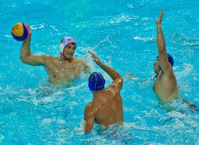 Olympics London Water Polo Medal Rounds