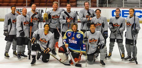 Kaustick Semi final game at the Ducks Throwback Tournament